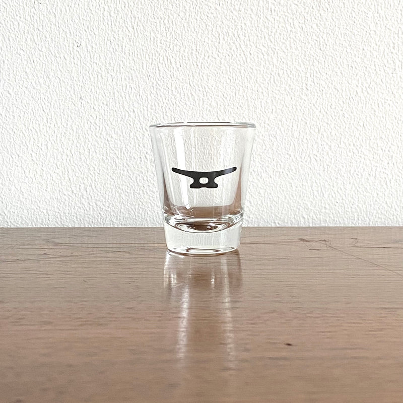 Cleat Shot Glass