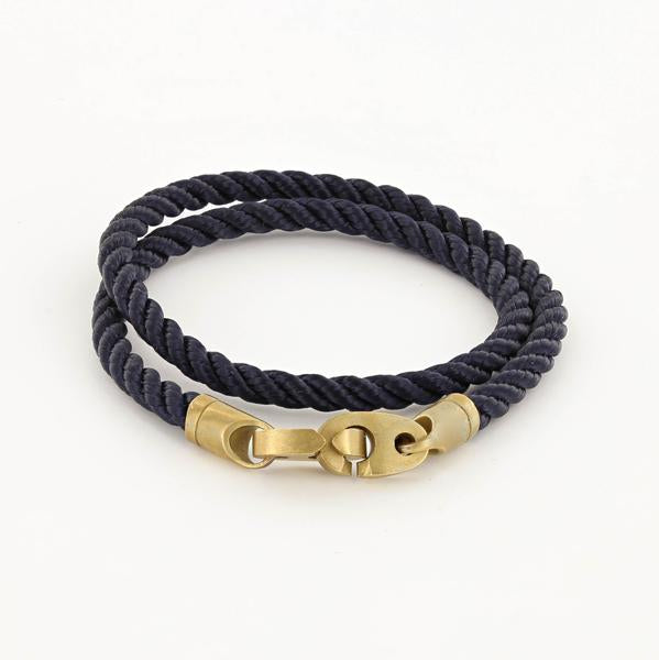 Journey Double Rope Bracelet (Navy)