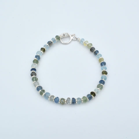 Medium Rondelle Beaded Gemstone Bracelet Workshop (Tuesday, July 2nd)