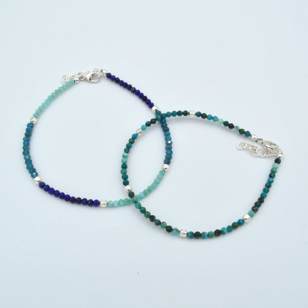 Small Round Beaded Gemstone Bracelet Workshop (Wednesday, June 12th)