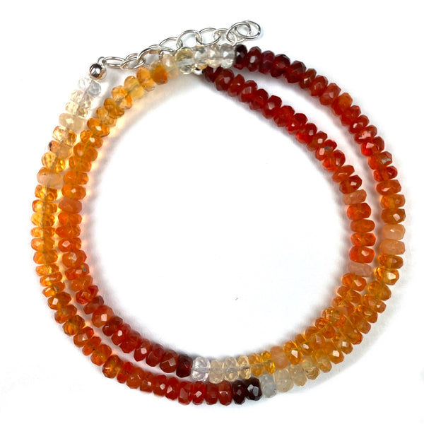 Ombre Gemstone Double Wrap Bracelet