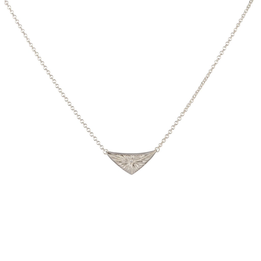 Flash Necklace in Sterling Silver
