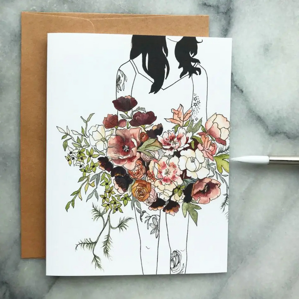 Greeting Card (Florence and the Wildflowers Watercolor)