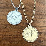 Friendship Islands Chart Necklace