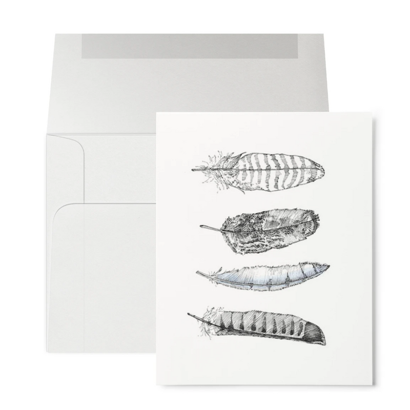 Greeting Card (Feathers)