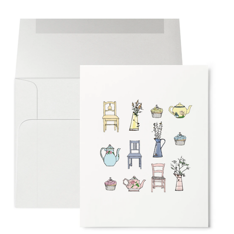 Greeting Card (Tea Time)