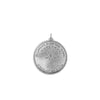 Large Disc Necklace in Sterling Silver (Thousand Islands #2 - Grindstone Island)