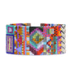 Handwoven Beaded Cuff (Havana)