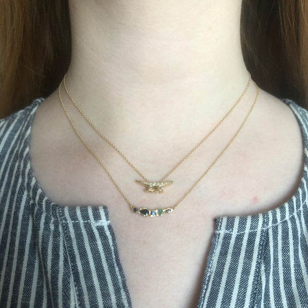 Journey Treasure Thousand Islands Necklace in 14K Yellow Gold