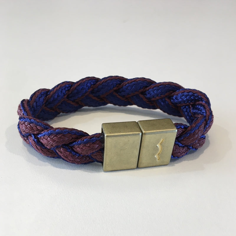 League Bracelet (Royal Blue/Burgundy)