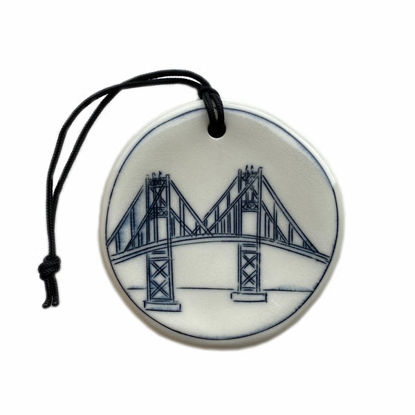 Thousand Islands Bridge Ornament (Span View)
