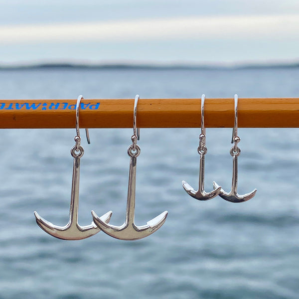 Medium Anchor Earrings
