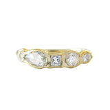 Journey Treasure Diamond Ring in 14K Yellow Gold