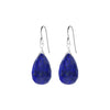 Single Drop Gemstone Earrings (Large Pear Shape)