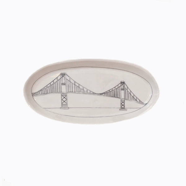 Thousand Islands Bridge Oval Platter (Large)