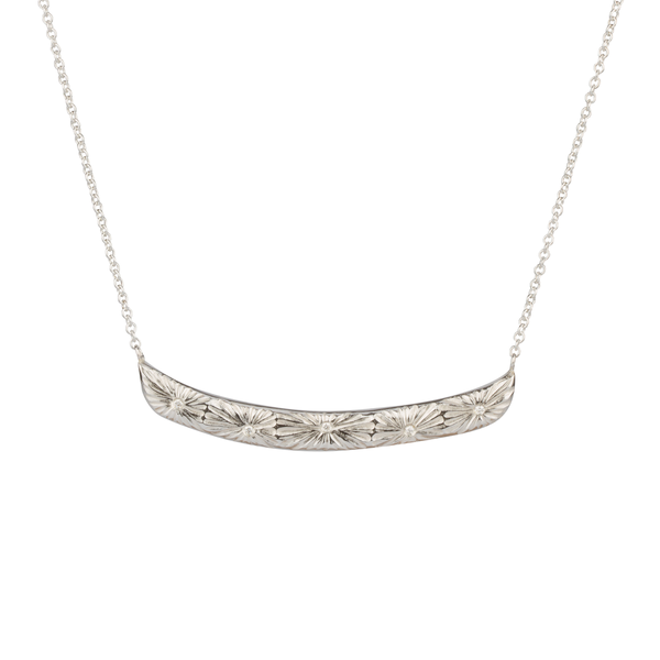 Luminous Bar Necklace in Sterling Silver
