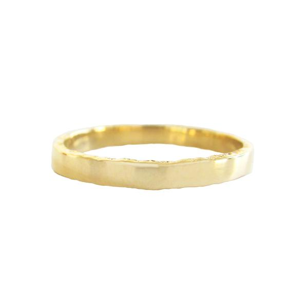 Men's Coastline Ring in 14K Yellow Gold