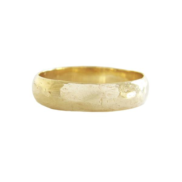 Men's Vega Ring in 14K Yellow Gold
