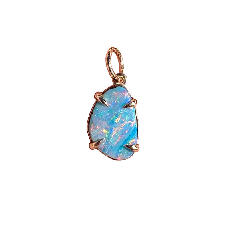 Medium Opal Pendant (Claw Set)