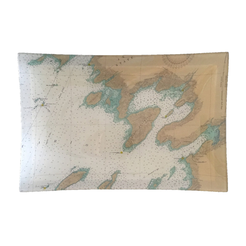 Medium Découpage Tray (TI #1A South - Cape, Chaumont, Dexter)