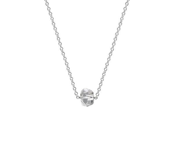 Single Drop Necklace (Herkimer Diamond)
