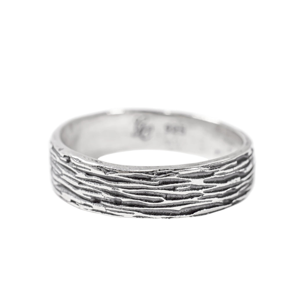 Ripple Ring in Sterling Silver (Oxidized)