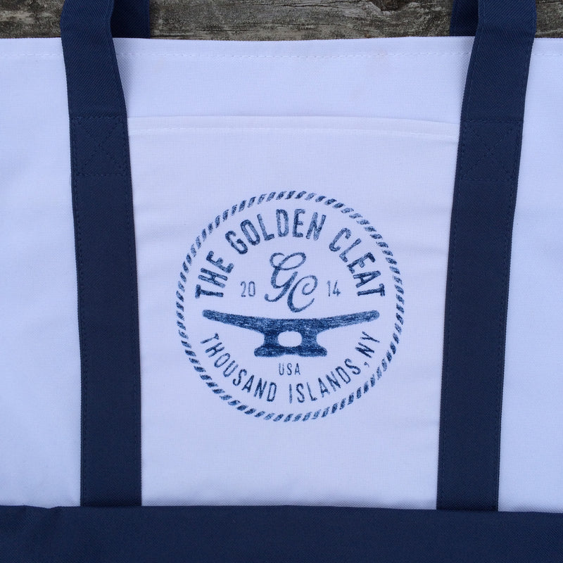 Giant Boat Tote with The Golden Cleat Logo