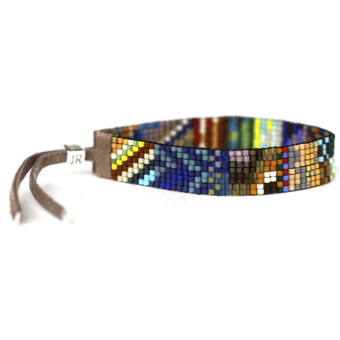 Handwoven Beaded Bracelet (Sedona)
