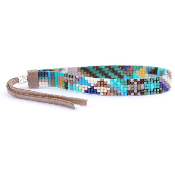 Handwoven Beaded Bracelet (Pacifica)