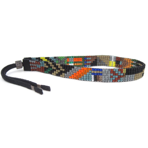 Handwoven Beaded Bracelet (Cape)