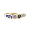 Journey Treasure Moonlight Ring in 14K Yellow Gold