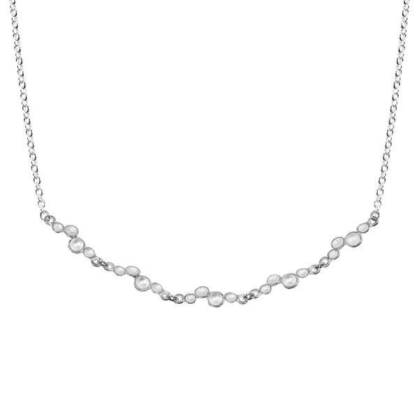 Ripple Necklace in Sterling Silver