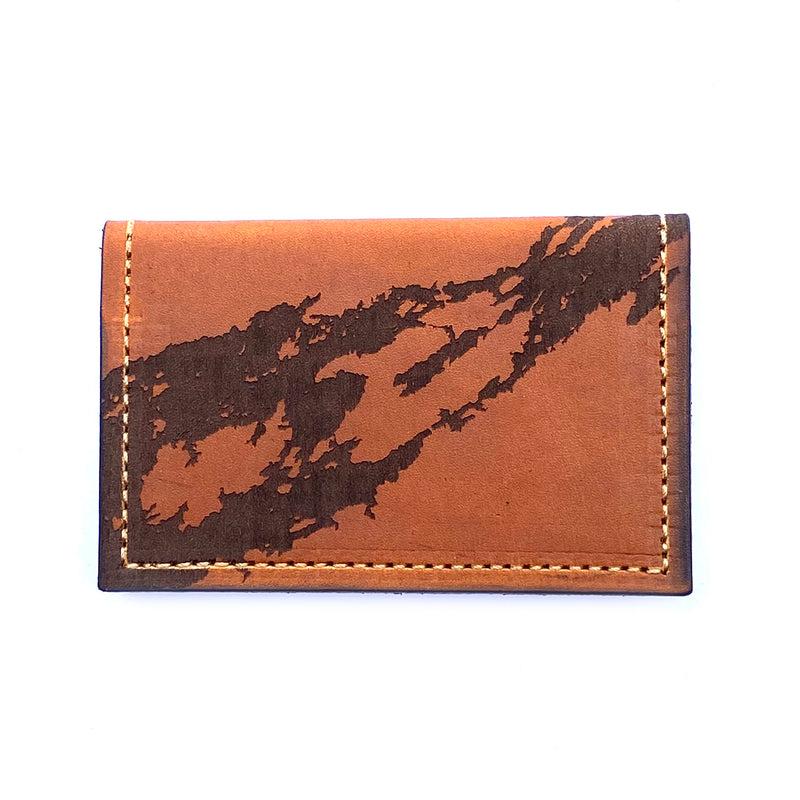 River Chart Card Wallet