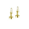 Small Channel Marker Earrings