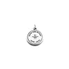 Save the River Charm in Sterling Silver