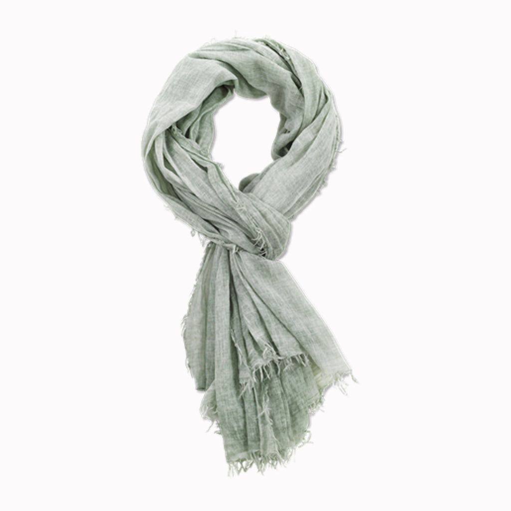 Pya Cotton Scarf (Sage Green)