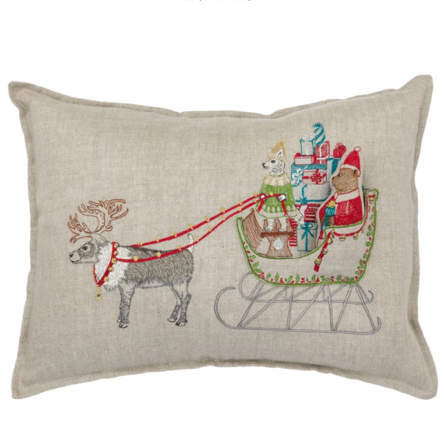 Pocket Pillow (Santa's Sleigh)