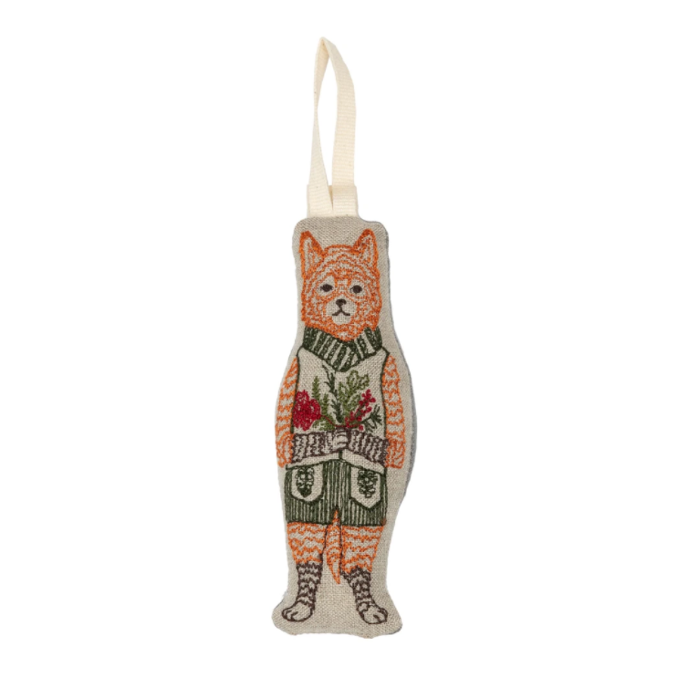 Festive Fox Ornament