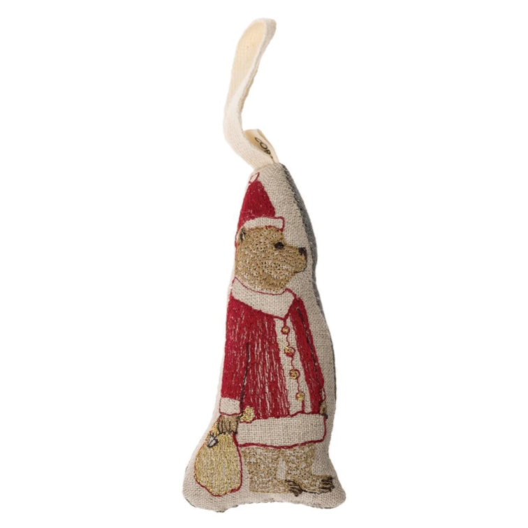 Santa Bear Ornament