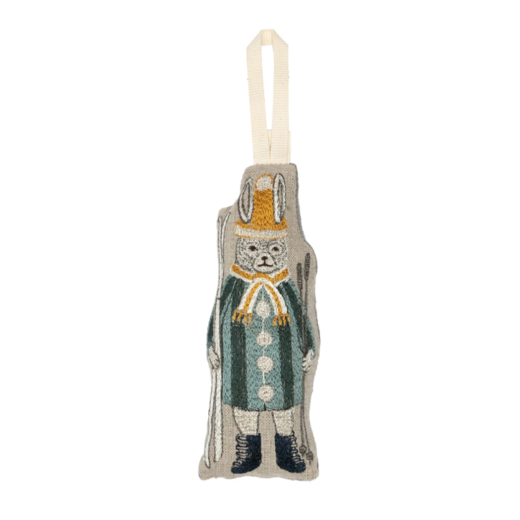 Slopes Bunny Ornament