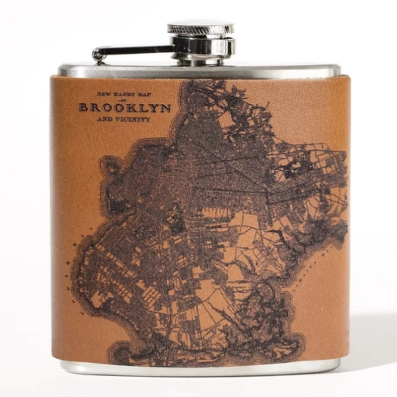 Brooklyn Leather Flask