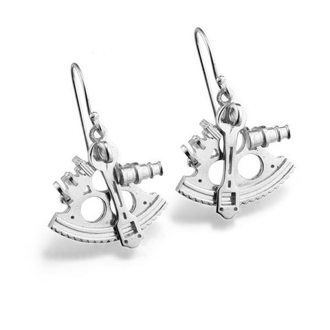Sextant Earrings