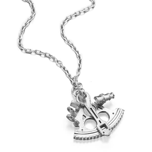 Sextant Necklace