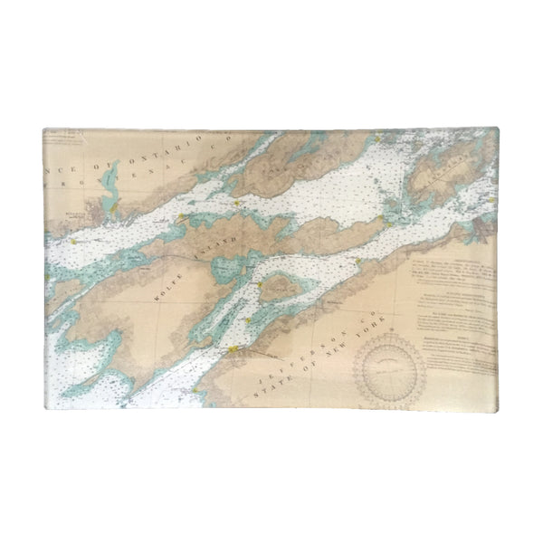 Small Découpage Tray (TI #1A North - Cape Vincent, Clayton)