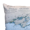 Indoor/Outdoor Chart Pillow (Lake Ontario to the St. Lawrence River)