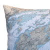 Indoor/Outdoor Chart Pillow (Wolfe Island to T. I. Park)
