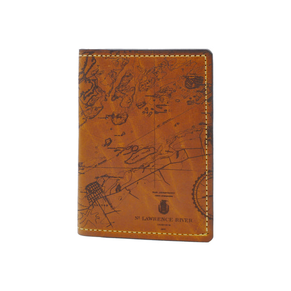 St. Lawrence River Chart Passport Wallet