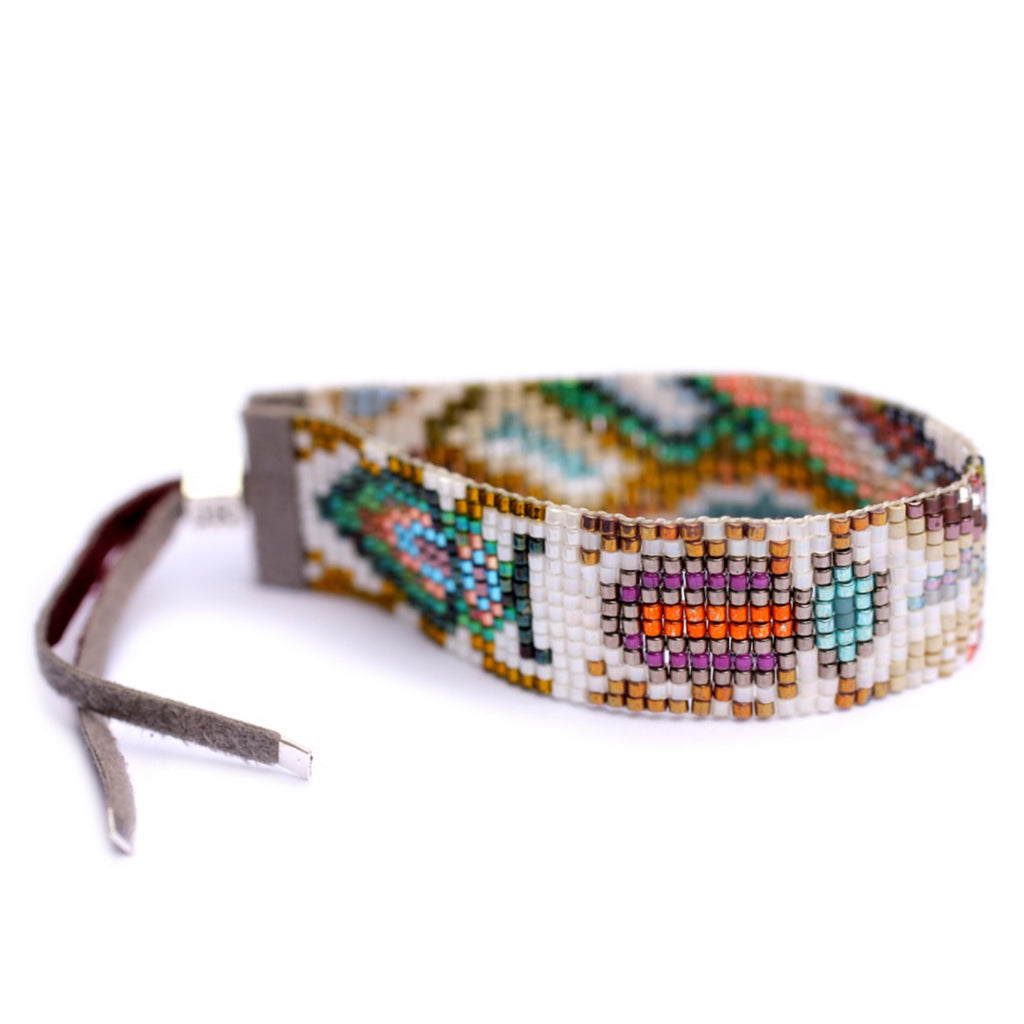 Handwoven Beaded Bracelet (Tahiti)
