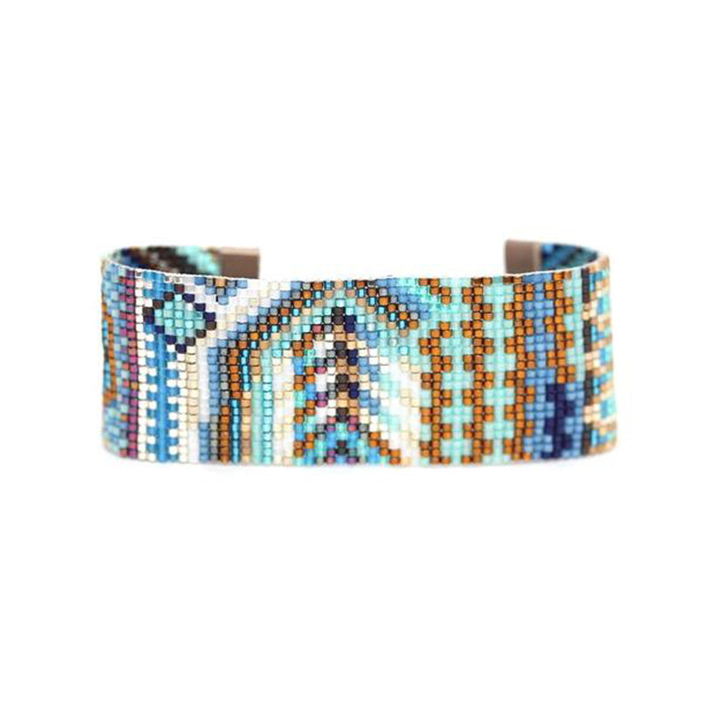 Handwoven Beaded Cuff (Tanu)