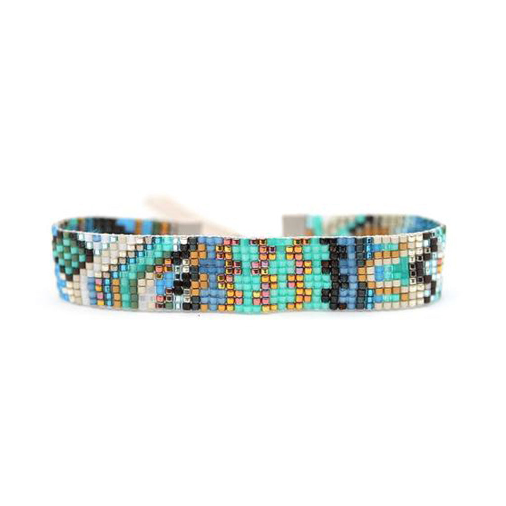 Handwoven Beaded Bracelet (Tanu)